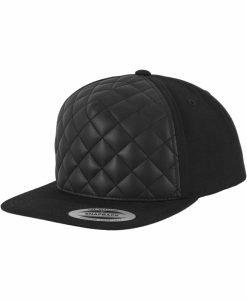 Sepci rap Snapback Diamond Quilted negru Flexfit - Sepci snapback - Flexfit>Sepci snapback
