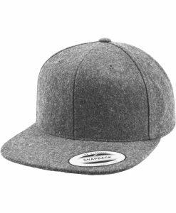 Sepci rap Snapback Melton Wool gri deschis Flexfit - Sepci snapback - Flexfit>Sepci snapback