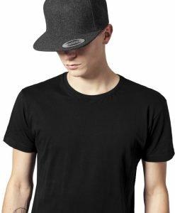 Sepci rap Snapback Melton Wool gri inchis Flexfit - Sepci snapback - Flexfit>Sepci snapback