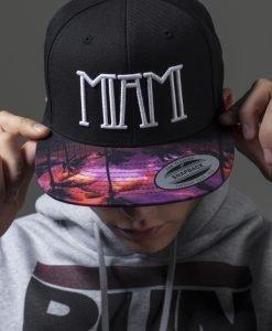 Sepci rap Snapback Miami negru Mister Tee - Sepci cu mesaje - Mister Tee>Regular>Sepci cu mesaje