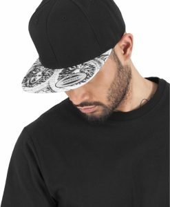 Sepci rap Snapback Sun King negru-alb Flexfit - Sepci snapback - Flexfit>Sepci snapback