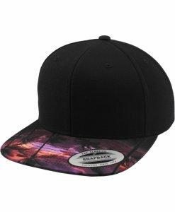 Sepci rap Snapback Sunset Peak negru Flexfit - Sepci snapback - Flexfit>Sepci snapback