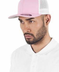Sepci trucker cu plasa Flexfit roz-alb - Flexfit - Flexfit