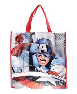 Shopping bag Captain America albastra - Aксесоари - Aксесоари Детски
