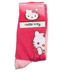 Sosete copii Hello Kitty fucsia cu roz - Aксесоари - Aксесоари Детски