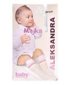 Sosete copii Majka 20DEN albe - Aксесоари - Aксесоари Детски