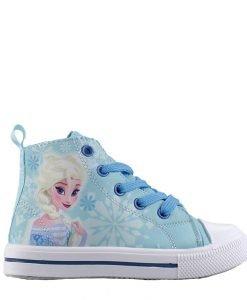 Tenisi copii Frozen bleu - Incaltaminte Copii - Tenisi Copii