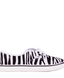 Tenisi copii Tudor albi zebra - Incaltaminte Copii - Tenisi Copii