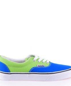 Tenisi dama Preslava albastri cu verde - Back to highschool - Back to highschool