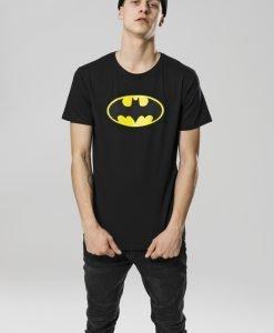 Tricou Batman Logo negru Merchcode - Tricouri cu trupe - Mister Tee>Trupe>Tricouri cu trupe