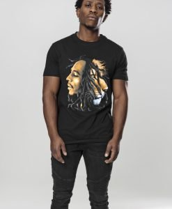 Tricou Bob Marley Lion Face negru Mister Tee - Tricouri cu trupe - Mister Tee>Trupe>Tricouri cu trupe