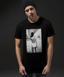 Tricou Easy Livin negru Mister Tee - Tricouri cu mesaje - Mister Tee>Regular>Tricouri cu mesaje