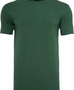 Tricou Fitted Stretch verde Urban Classics - Tricouri urban - Urban Classics>Barbati>Tricouri urban