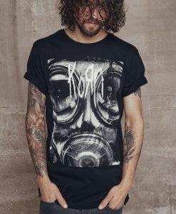 Tricou Korn Asthma negru Merchcode - Tricouri cu trupe - Mister Tee>Trupe>Tricouri cu trupe