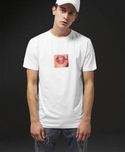 Tricou Life Is Pain alb Mister Tee - Tricouri cu mesaje - Mister Tee>Regular>Tricouri cu mesaje