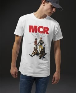 Tricou My Chemical Romance Killjoys Pinup alb Merchcode - Tricouri cu trupe - Mister Tee>Trupe>Tricouri cu trupe