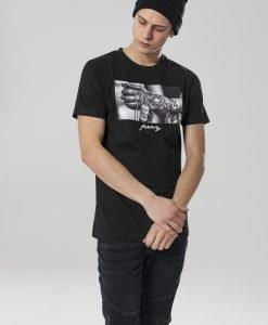 Tricou Pray 2.0 negru Mister Tee - Tricouri cu mesaje - Mister Tee>Regular>Tricouri cu mesaje