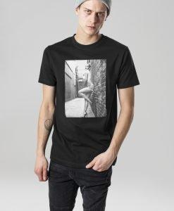 Tricou Rita Ora Wall negru Merchcode - Tricouri cu trupe - Mister Tee>Trupe>Tricouri cu trupe