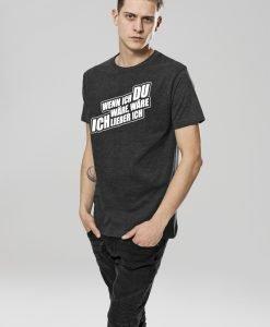 Tricou Sascha Grammel gri carbune Merchcode - Tricouri cu trupe - Mister Tee>Trupe>Tricouri cu trupe