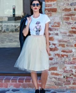 Tricou StarShinerS Fashionista Icon White - Tricouri -