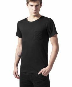 Tricou cu buzunar negru-negru Urban Classics - Tricouri urban - Urban Classics>Barbati>Tricouri urban