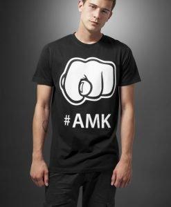 Tricou cu imprimeu amuzant AMK negru Mister Tee - Tricouri cu mesaje - Mister Tee>Regular>Tricouri cu mesaje