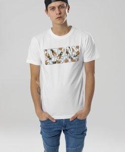 Tricou cu logo Urban Classics alb-ananas - Tricouri urban - Urban Classics>Barbati>Tricouri urban