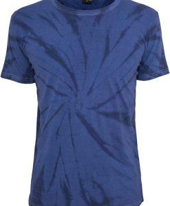 Tricou cu model special Batik albastru-indigo Urban Classics - Tricouri urban - Urban Classics>Barbati>Tricouri urban
