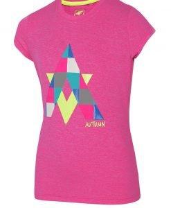 Tricou fetite Autumn Pink - Haine si accesorii - Imbracaminte sport copii