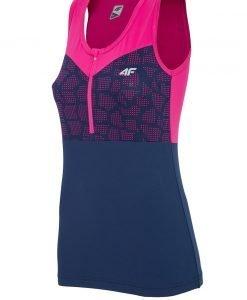 Tricou sport de dama 4f Pink fara maneci - Haine si accesorii - Trcouri maiouri