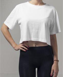 Tricou supradimensionat scurt pentru Femei alb Urban Classics - Femei - Urban Classics>Colectie noua>Femei