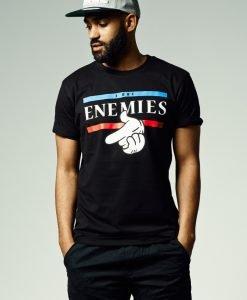 Tricouri barbati Got Enemies Tee - Tricouri cu mesaje - Mister Tee>Regular>Tricouri cu mesaje