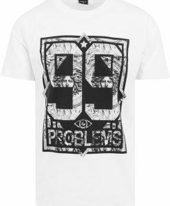 Tricouri hip hop 99 Problems alb-marble Mister Tee - Tricouri cu mesaje - Mister Tee>Regular>Tricouri cu mesaje