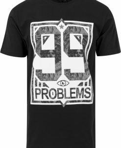 Tricouri hip hop 99 Problems negru-marble Mister Tee - Tricouri cu mesaje - Mister Tee>Regular>Tricouri cu mesaje