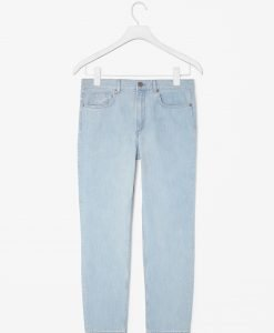 Blugi COS Light Blue Relaxed Fit - FEMEI - JEANS DAMA