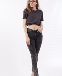 Blugi Cheap Monday Black Stone - FEMEI - JEANS DAMA