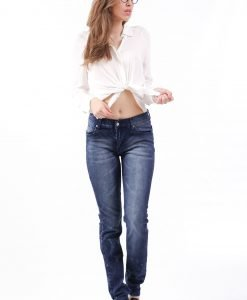 Blugi Cheap Monday Nitro Blue - FEMEI - JEANS DAMA