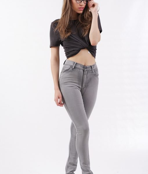 Blugi Cheap Monday Second Skin High Grey – 75% OFF – 75% OFF