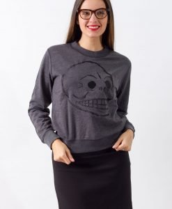 Bluza Cheap Monday Skull - 75% OFF - 75% OFF