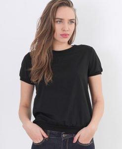 Bluza Mohito Black Basic - FEMEI - BLUZE