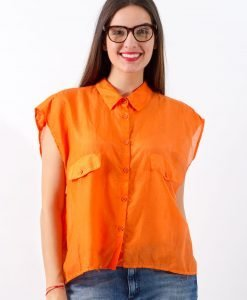 Camasa Cheap Monday Orange - FEMEI - CAMASI DAMA