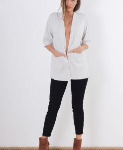 Cardigan COS Elegance Grey - FEMEI - PULOVERE DAMA