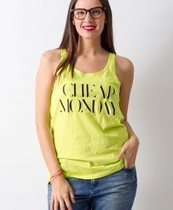 Maieu Cheap Monday Lime - FEMEI - TRICOURI DE DAMA