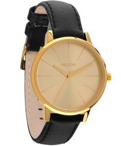 Nixon - Ceas Kensington Leather Gold - Accesorii - Ceasuri