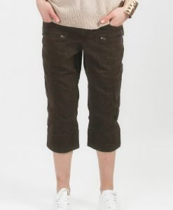 Pantaloni H&M sport maro - FEMEI - PANTALONI DAMA