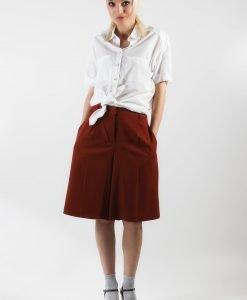 Pantaloni culottes Massimo Dutti - 75% OFF - 75% OFF