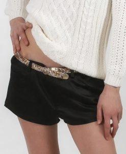 Pantaloni scurti Zara shiny - FEMEI - PANTALONI DAMA