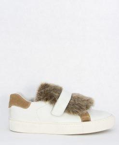 Pantofi Sport din piele Furry - FEMEI - INCALTAMINTE DE DAMA