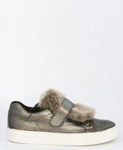 Pantofi Sport din piele Furry Green - FEMEI - INCALTAMINTE DE DAMA