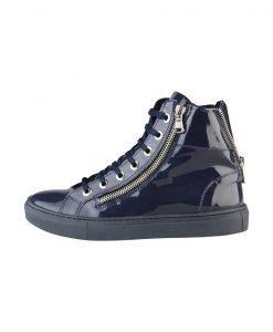 Pantofi sport din lac Versace 1969 - FEMEI - INCALTAMINTE DE DAMA